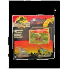 Jurassic Park : Pteranodon et Gallimimus