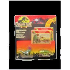 Jurassic Park : Ceratosaurus et Triceratops