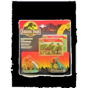 Jurassic Park : Plesiosaurus et Iguanodon