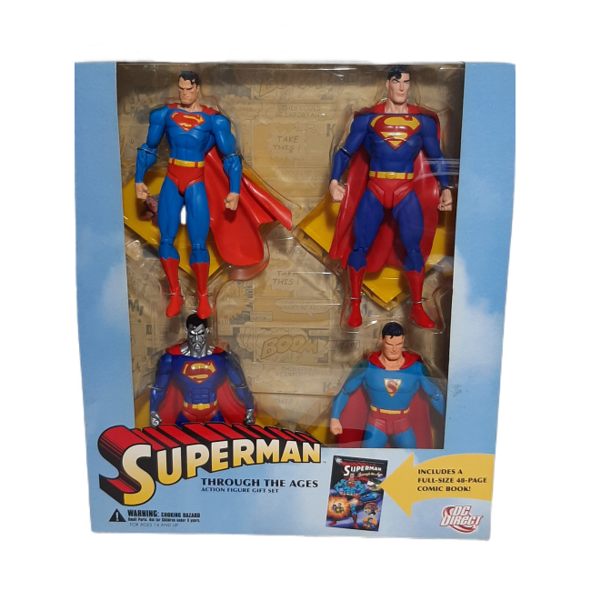 Superman : Through the ages